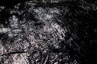 Black plastic tarp
