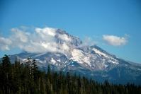 Mount Hood, Oregon in the summer