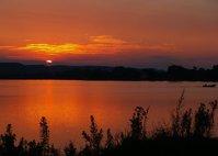 Sunset on Lake Winona