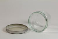 A glass jar 5