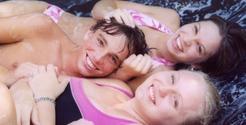 Summer Fun On The Trampoline