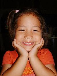 a pretty smile
