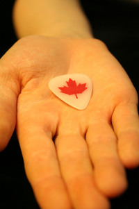 Hand with Guitar Pick 1