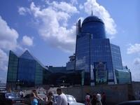Building of station in Samara