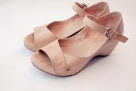 Leather Wedge Heels 4
