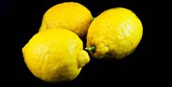 Organic lemon fruit