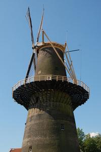 Windmill in Schiedam; De Noord