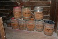 Barrels fot pigment