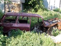 Useless old car