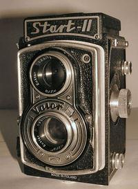 Old fashioned photocamera