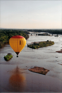 Flying over the Rio Grande