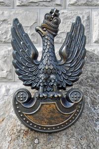 Old polish military sign - eagle