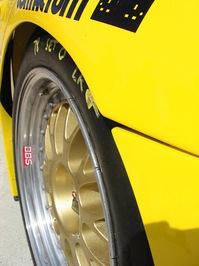 Porsche at pit stop 3