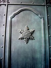 Snowflake door
