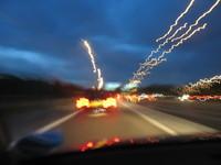 Night Motorway Lights