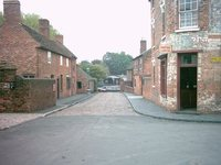 Cobbled street - historical
