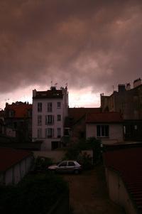 Storm at Fontenay