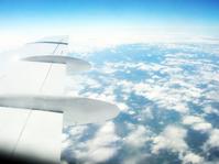A Asa de um Boeing