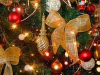 Christmas Tree With Glamour Effect 4