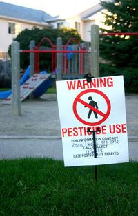 Playground,Warning,Pesticide,Oxymoron