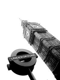 London, Big Ben&Underground