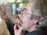 Dad's smoking