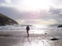 Fenella beach, Peel