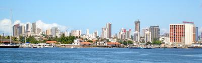 panoramic foto of Natal - RN - Brazil