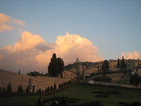 Sky in Assisi 1