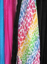 rainbow shawl texture