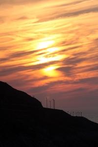 Wrinkled sunset 1