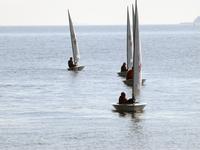 spring morning yachting