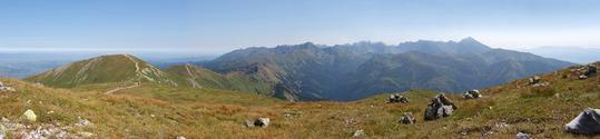 Tatry Mountains panorama