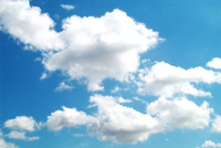 I love clouds. Today. 7