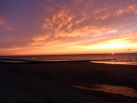 sunset at Normadie Beach