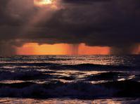 Rain on sea I