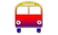 School bus pictogram 1