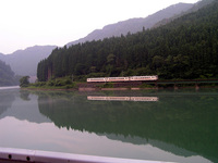 Mirrored train