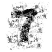 DistressedDigits 7