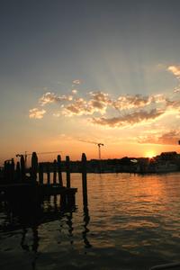 Evening around Venice