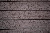 water drops on a wood board