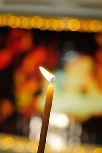 Candle Light Burning