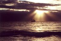 Maui Sunset & Ship