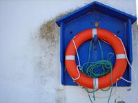 salvavidas no porto de rinlo